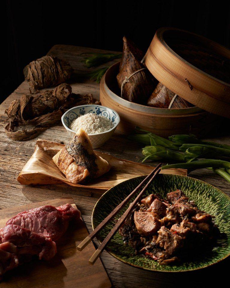 梅香豚肉粽/粽子/台北美福大飯店/端午