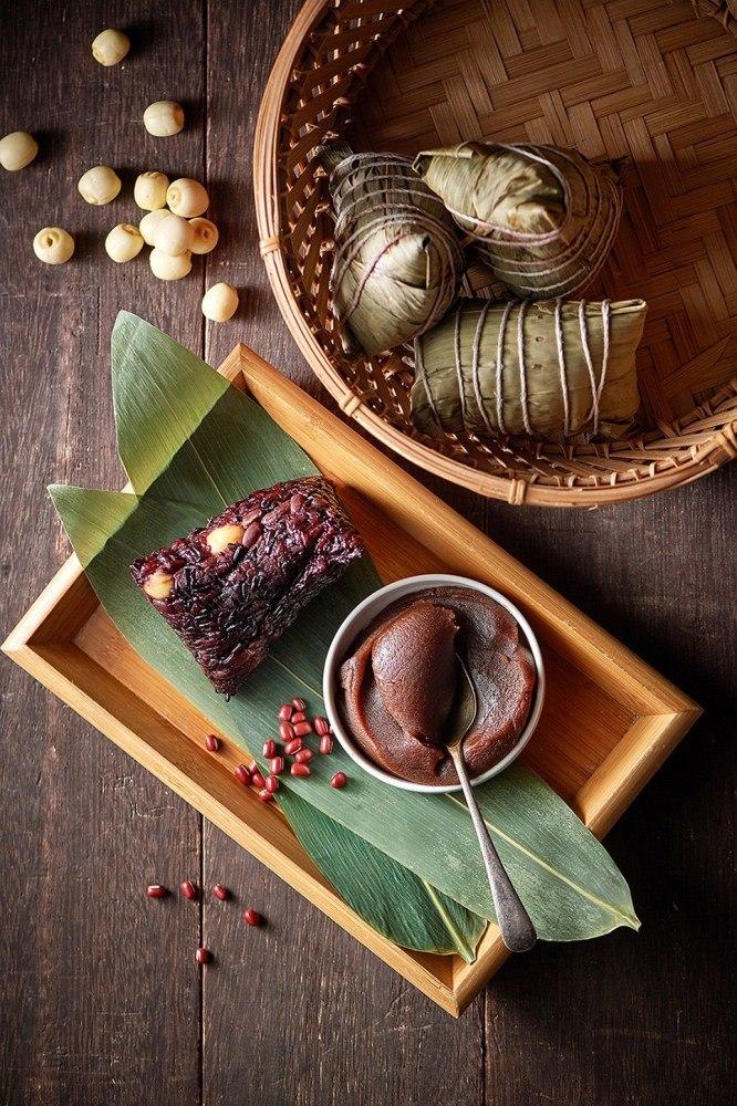 紫米蓮子豆沙粽/粽子/台北美福大飯店/端午