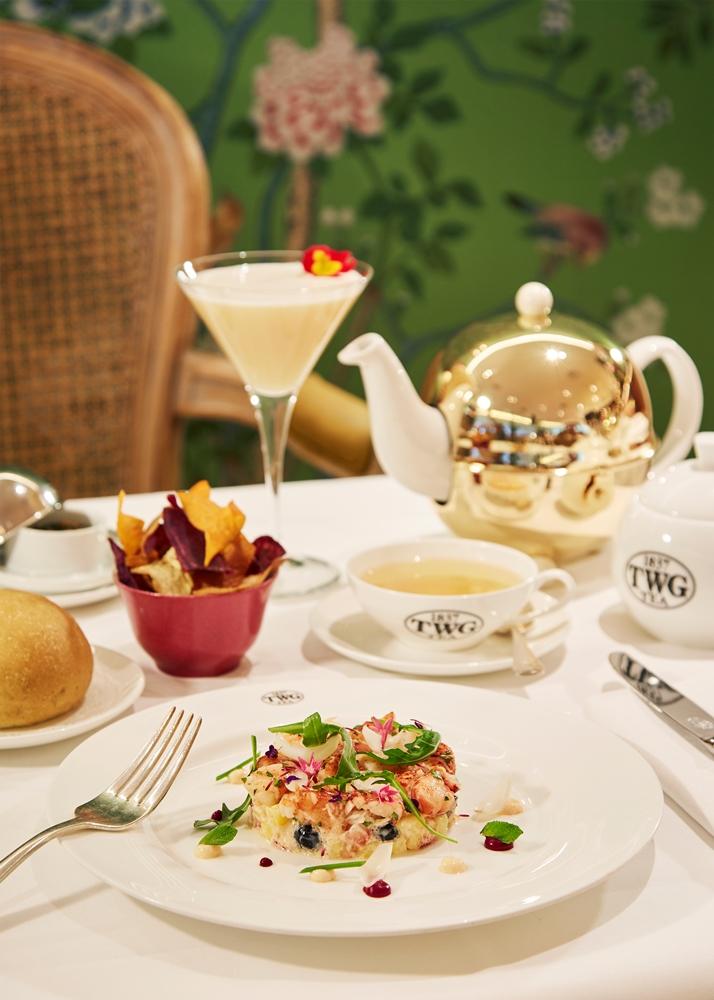 TWG Tea/母親節限定套餐/波士頓龍蝦沙拉/銀月綠茶桂花凍/美食推薦
