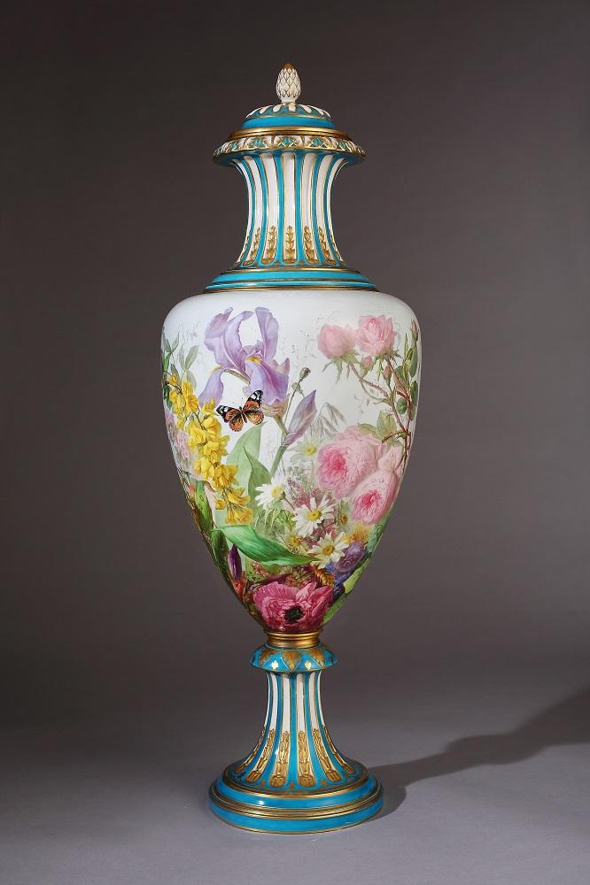 花卉大瓶/亞熱帶花園─彩繪陶瓷展/鶯歌陶瓷博物館/新北/台灣
