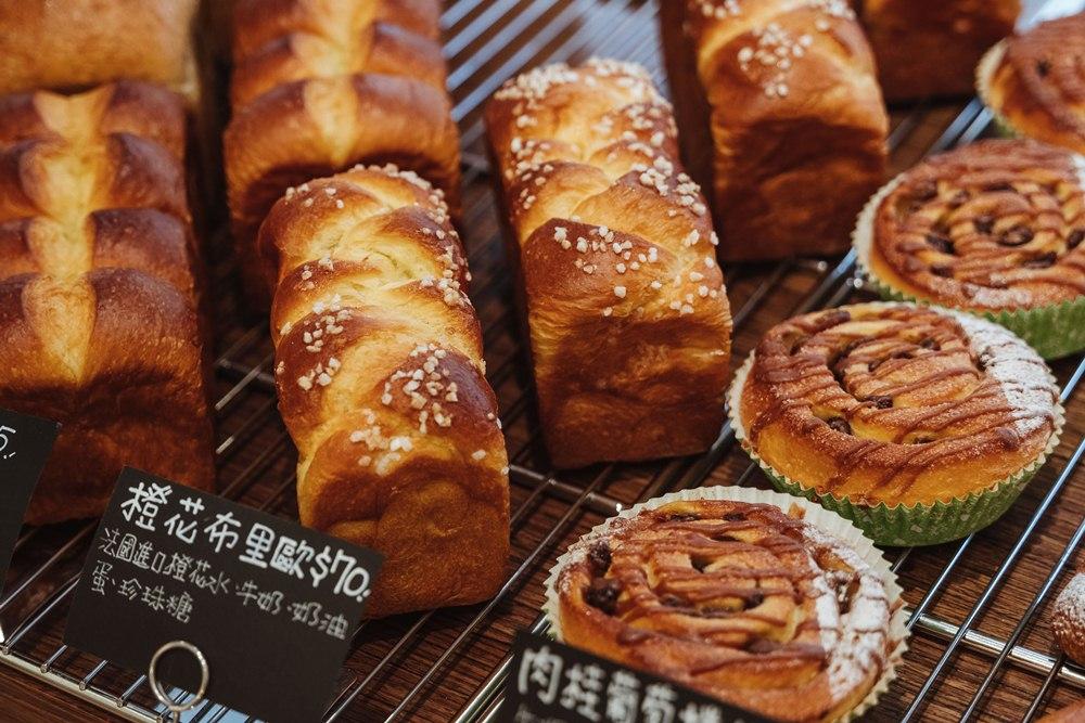 橙花布里歐/Boulangerie Dix Ans/十年麵包/內湖/台北