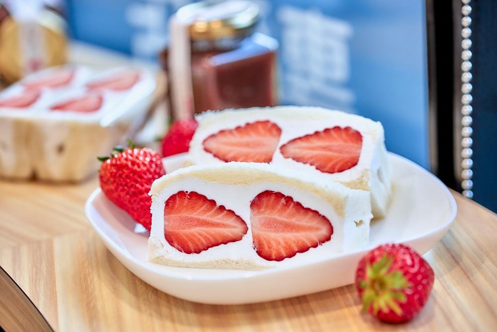 日本紅臉頰草莓/三明治/J Fruit Mart水果專賣店/大安區/台北