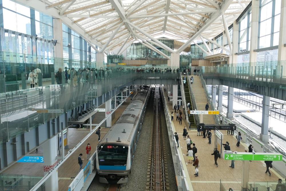日本/東京旅遊/JR Gateway/東京鐵道/創意生活