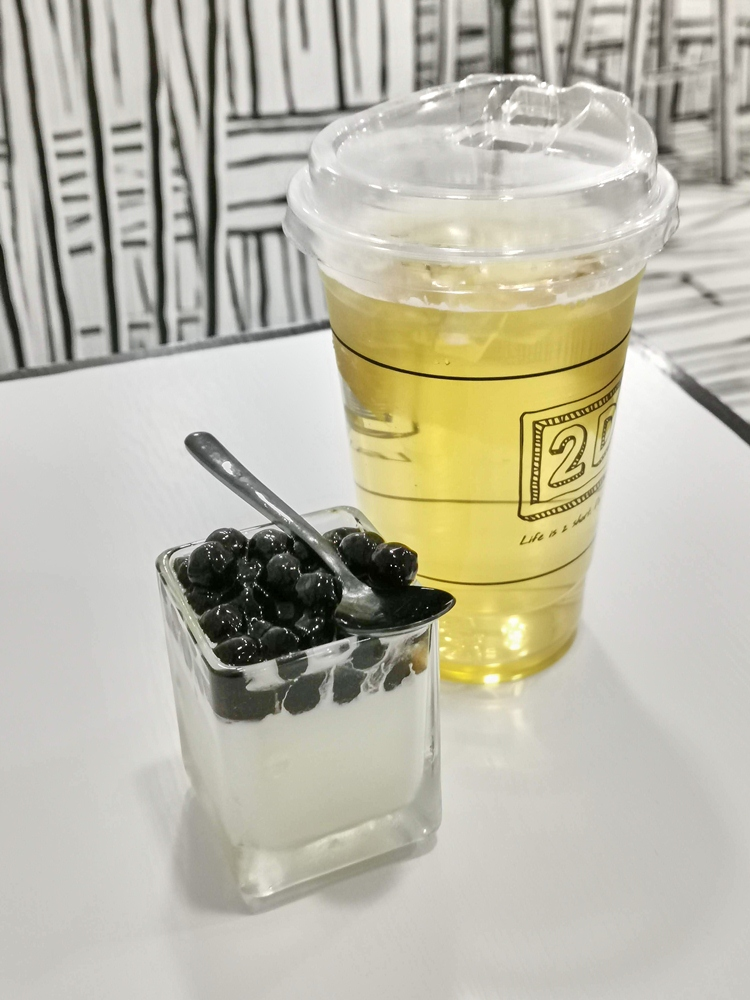 鮮濃奶酪珍珠口味/2D cafe/咖啡廳/大安區/台北