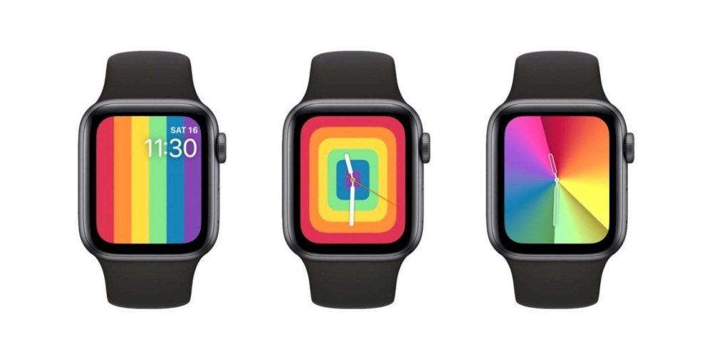 Apple Watch/彩虹版運動型錶/蘋果公司
