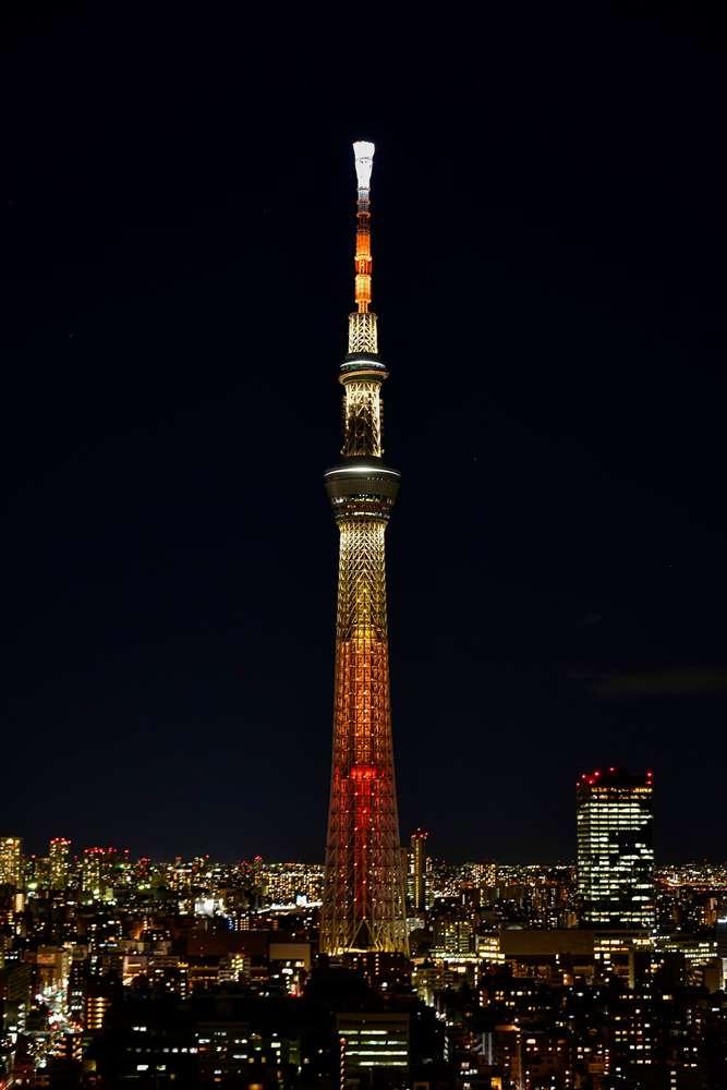 抗疫燈火/外觀/東京晴空塔/東京/日本