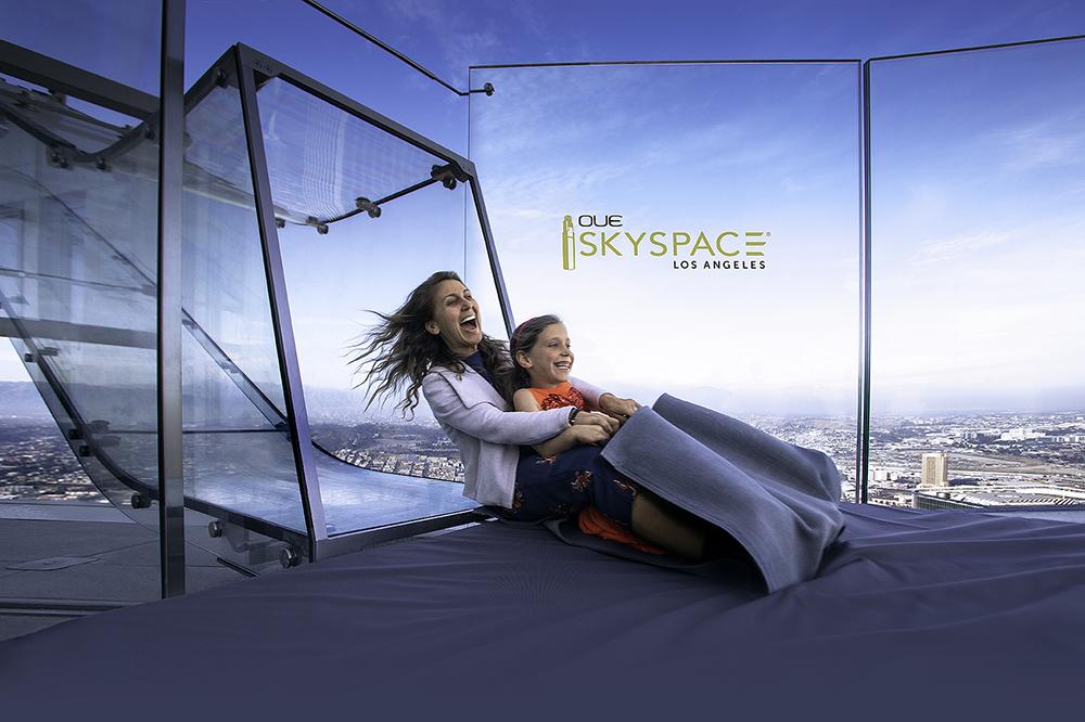 OUE Skyspace/Los Angeles/Skyslide/高空溜滑梯/洛杉磯/美國