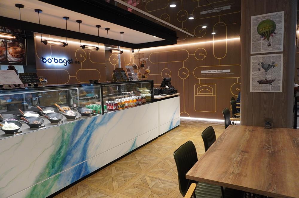 店家內部/飽貝bo'bagel - 貝果Café/信義區/台北