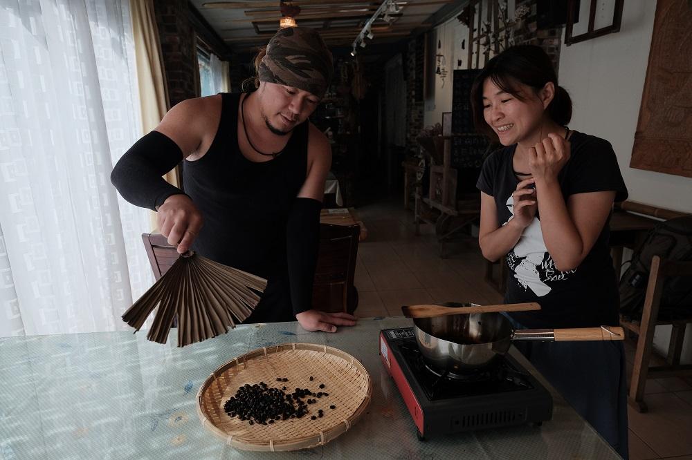 咖啡/宿瓦納咖啡茶園/樂野部落/阿里山/台灣/深度旅遊