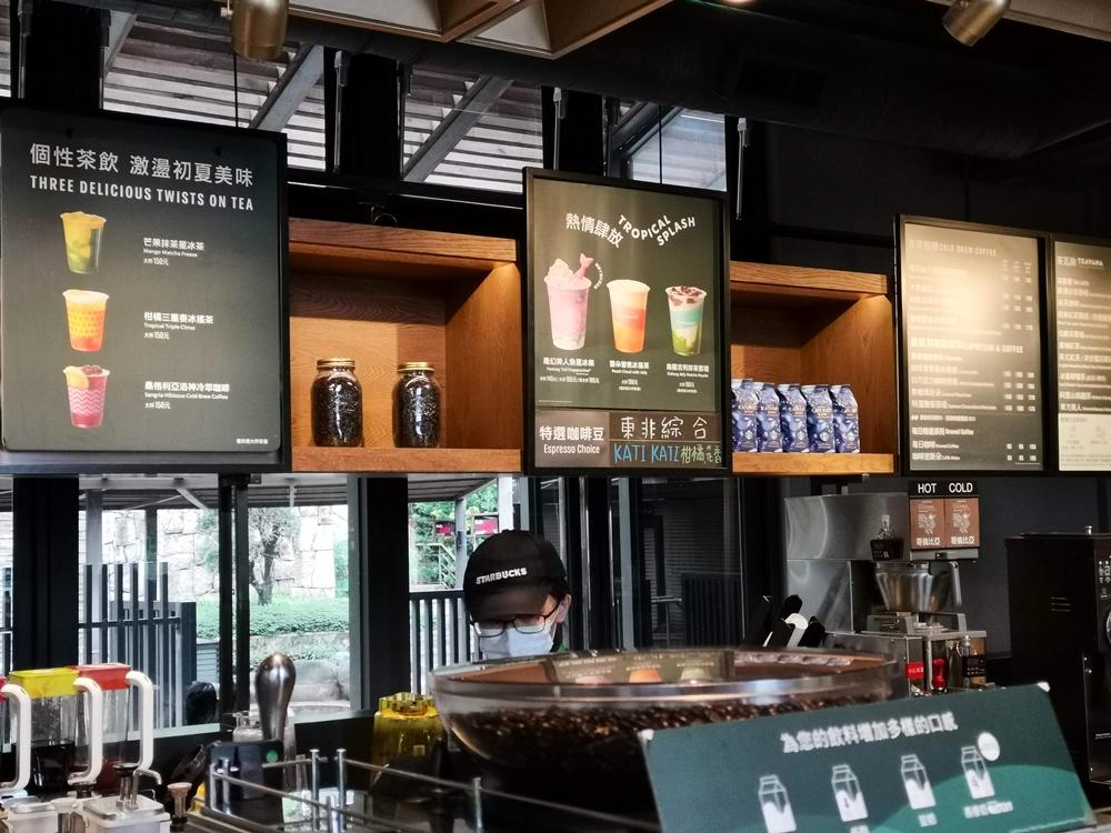 夏日限定菜單/咖啡店店內/星巴克