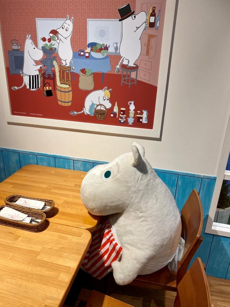 店裡打卡/Moomin Café 嚕嚕米主題餐廳/信義區/台北