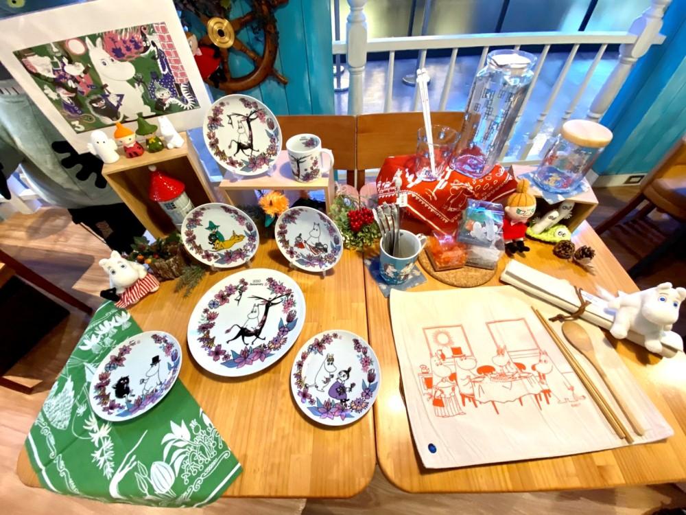 周邊/店裡打卡/Moomin Café 嚕嚕米主題餐廳/信義區/台北