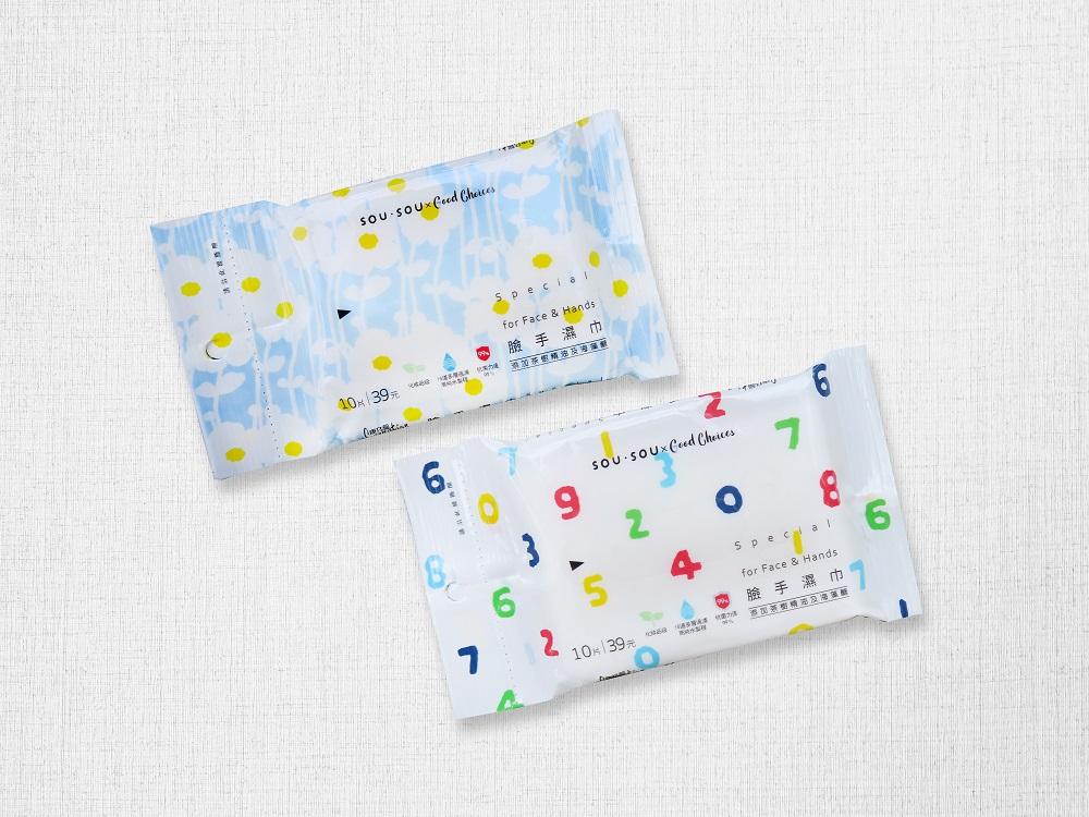 濕紙巾/SOUSOU/7-11/限量聯名/台灣