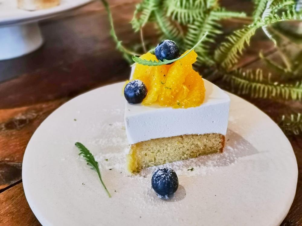 西班牙甜橙磅蛋糕與茉莉花慕斯/甜點/內部/Flügel Studio/德式人文甜點空間/大安區/台北