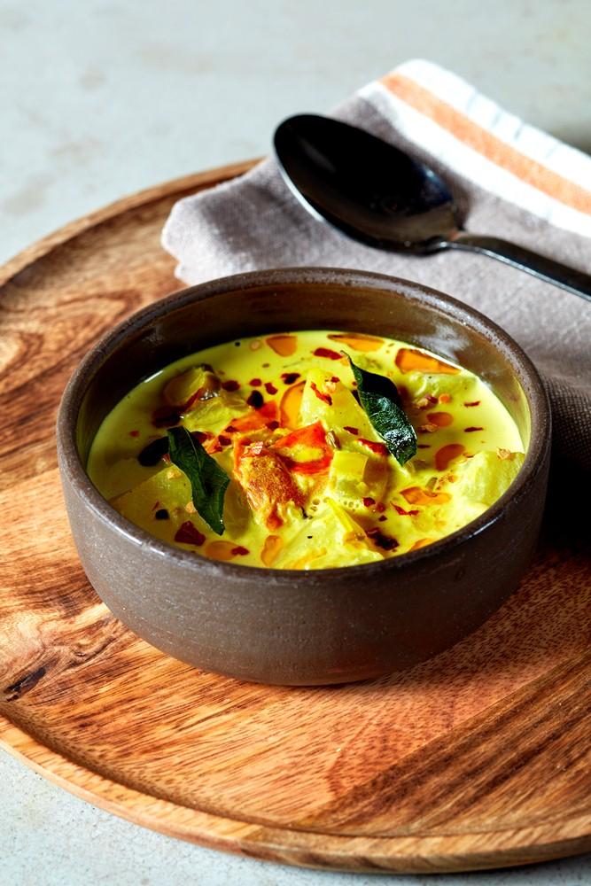 鮟鱇魚黃咖哩/斯里蘭卡料理/Kolamba/餐廳/倫敦/英國
