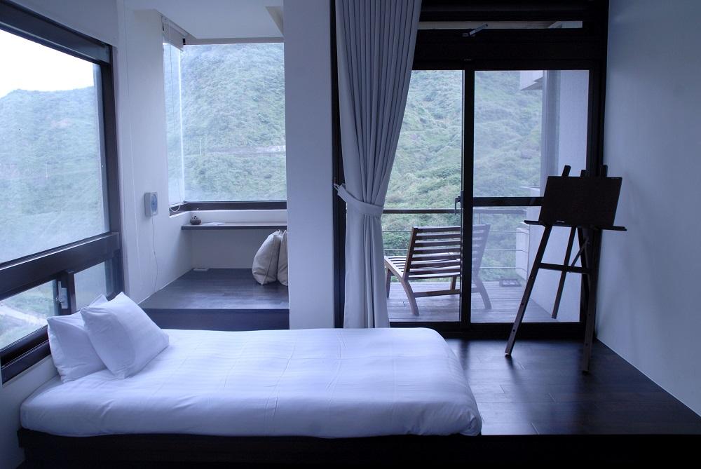 台灣必住villa新北「緩慢金瓜」的房間