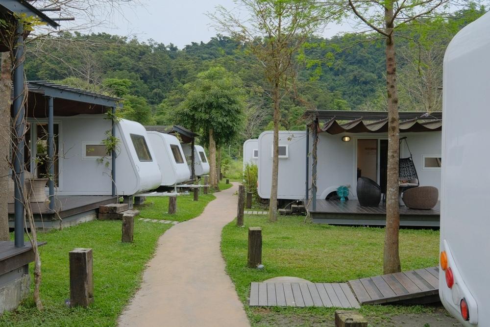 宜蘭豪華露營區「天ㄟ露營車」
