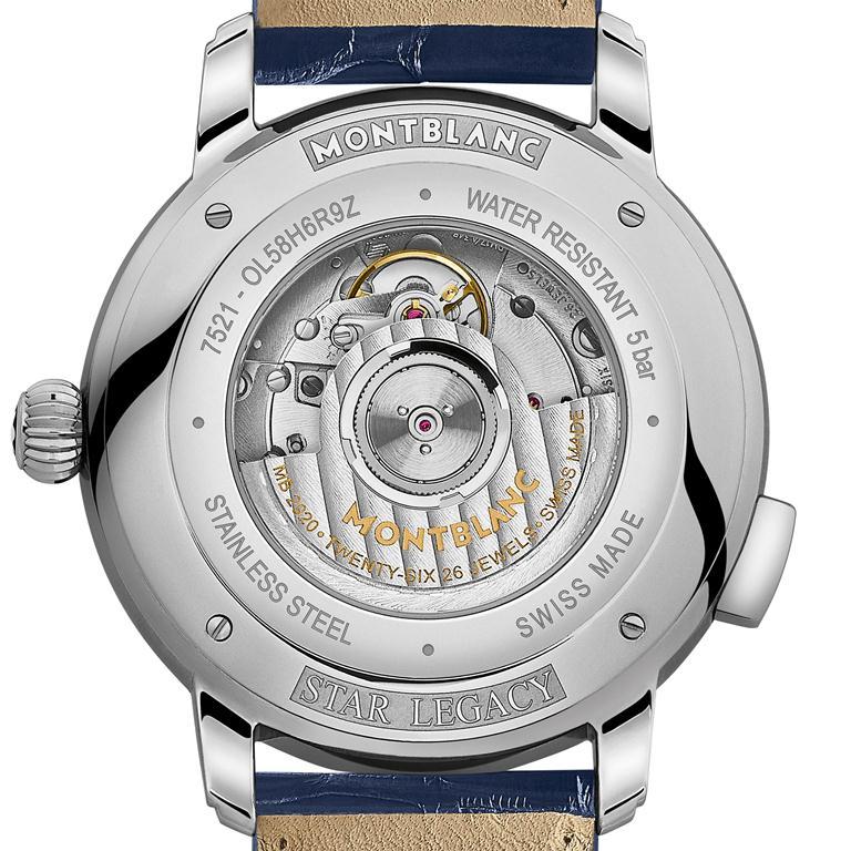 世界時區腕錶/明星傳承系列/萬寶龍/手錶
