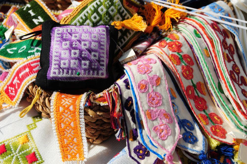 克羅埃西亞必買的手工針織/刺繡製品