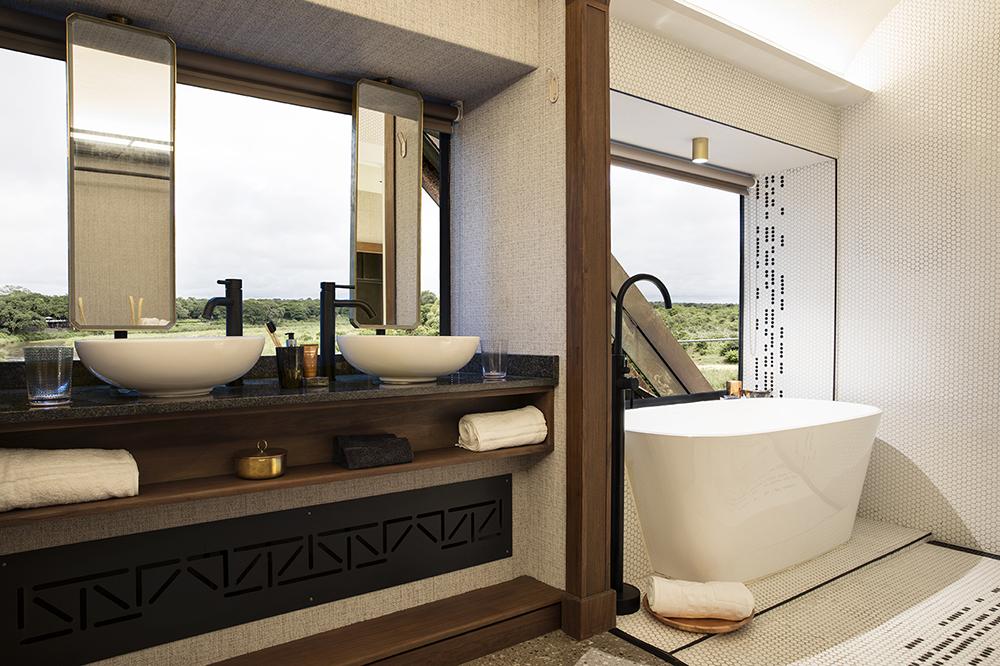 kruger national park/Kruger Shalati/絕景飯店/南非
