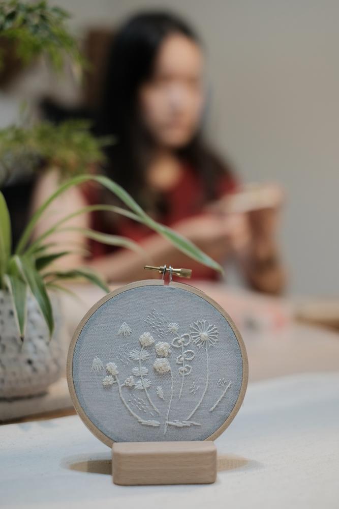 写生/刺繡/植物/大自然/高雄