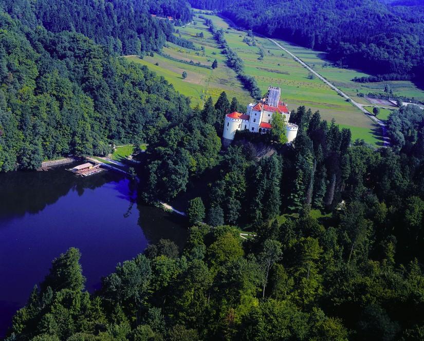 克羅埃西亞中世紀古堡「特拉科什全城堡」