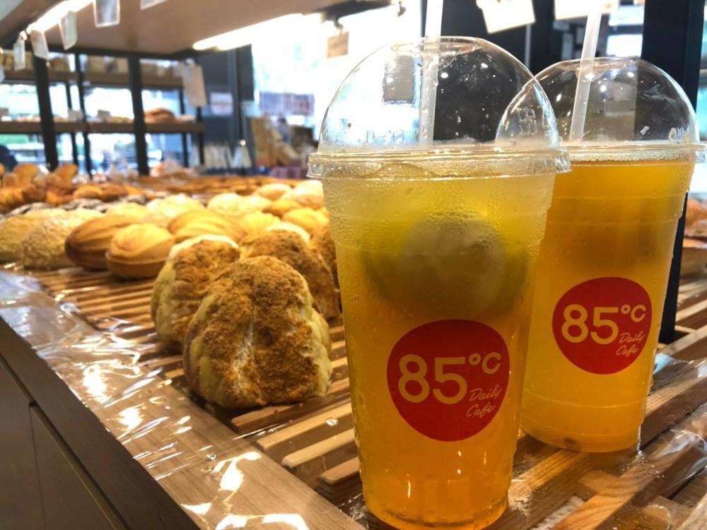 檸檬系列飲料/85℃/台灣