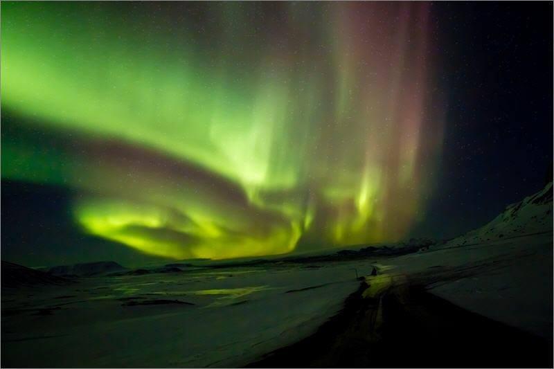 冰島極光的最佳觀測時刻