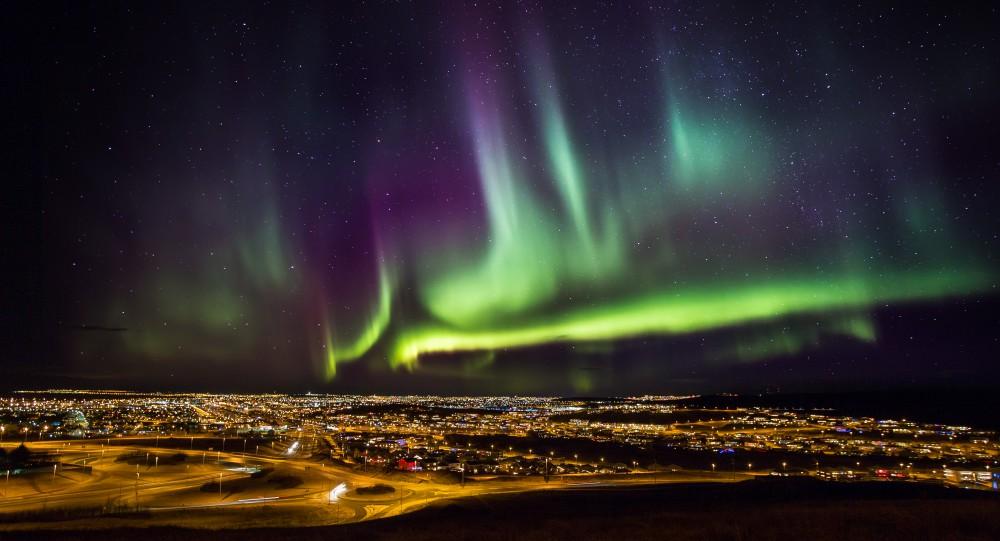 冰島極光/雷克雅未克