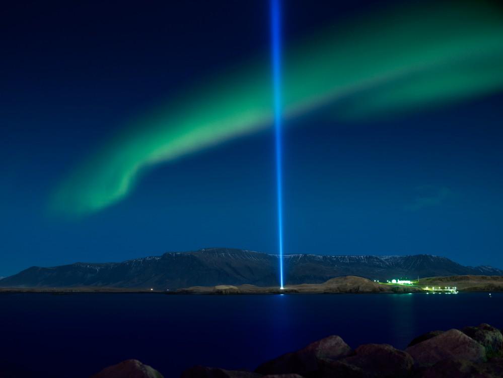 冰島極光/維澤島