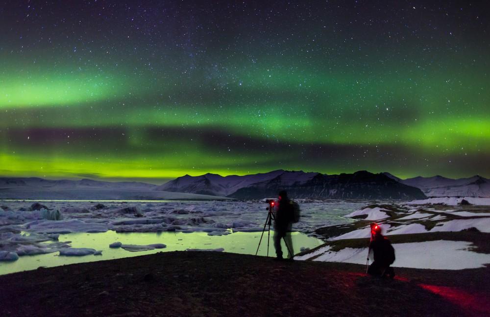 冰島極光/傑古沙龍冰河湖