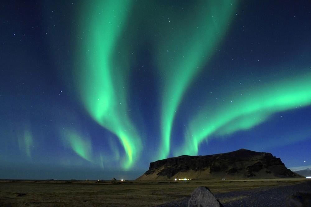 冰島極光/維克鎮