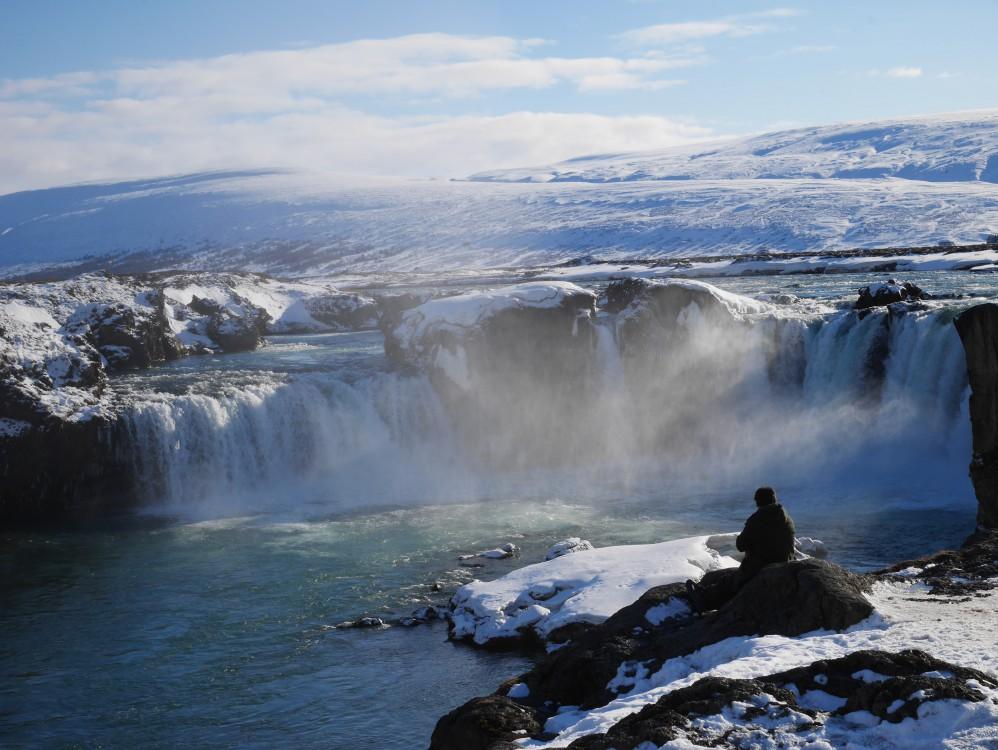 冰島景點「眾神瀑布」