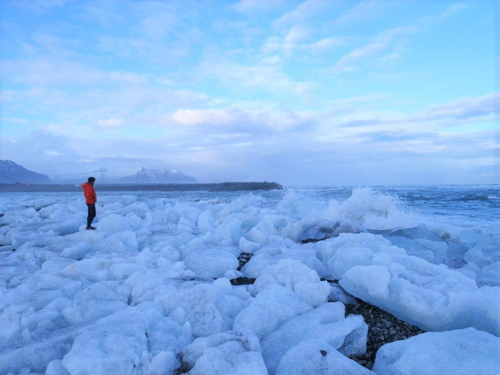 冰島景點推薦鑽石冰沙灘