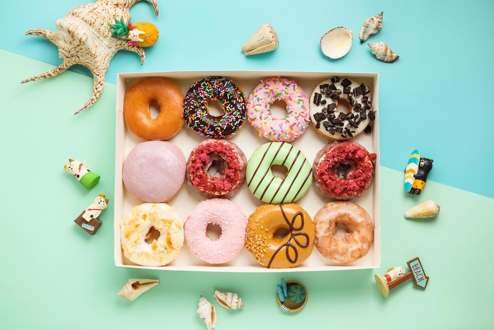 美式甜甜圈/Krispy Kreme/夏日甜點/台灣