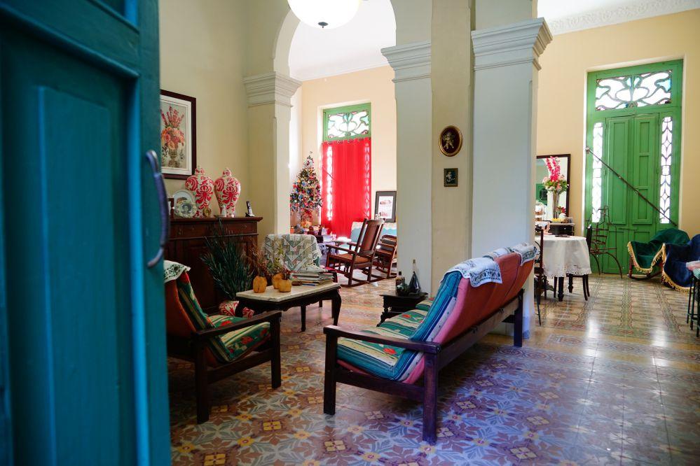 古巴傳統客廳擺設
