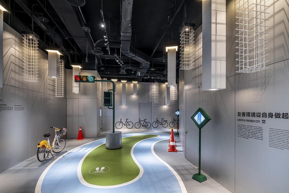 自行車文化探索館/台中/台灣/自行車