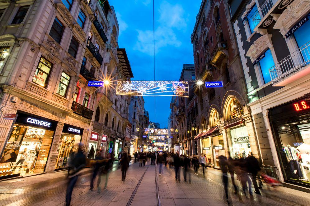 土耳其4月旅遊推薦走一趟伊斯坦堡的香榭大道