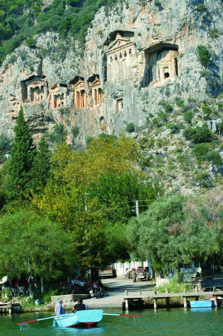 土耳其10月旅遊推薦景點「考諾斯國王陵墓」