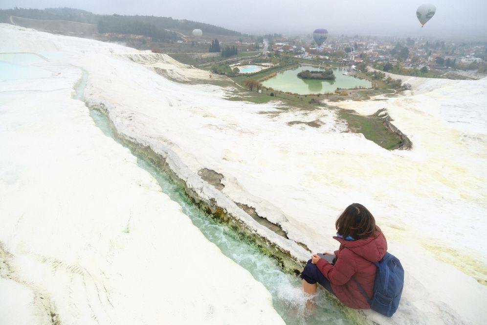 土耳其11月旅遊推薦景點「棉堡溫泉」