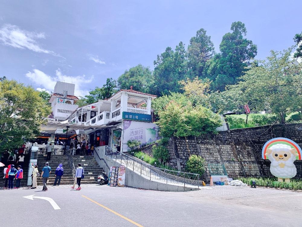 巨型OPEN將/清境商場/7-11/打卡景點/南投/台灣