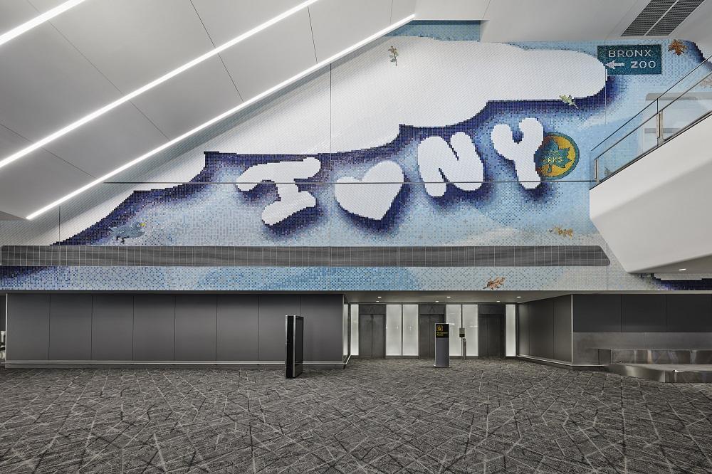 拉瓜迪亞機場/紐約/美國/公共藝術