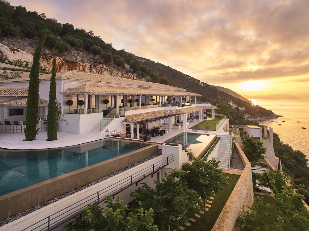 夕陽/Ultima Corfu/希臘旅遊/希臘科孚島