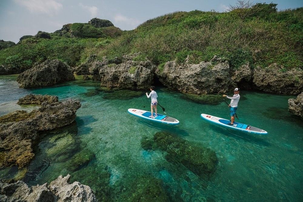 SUP 立槳衝浪/海邊/墾丁小巴里島/屏東/台灣