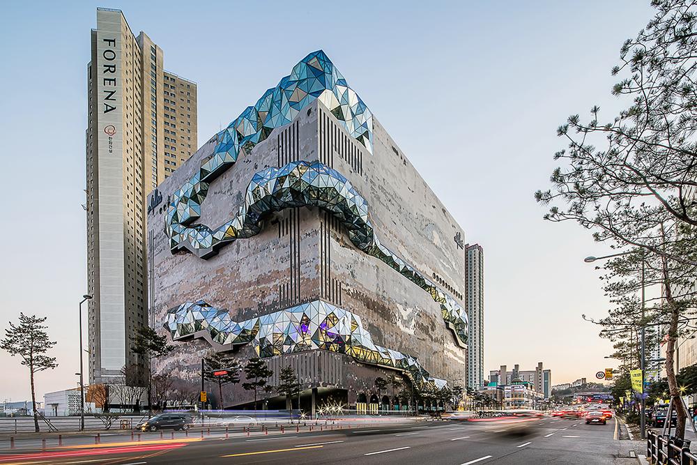 外觀/Galleria Gwanggyo/韓國最美百貨公司