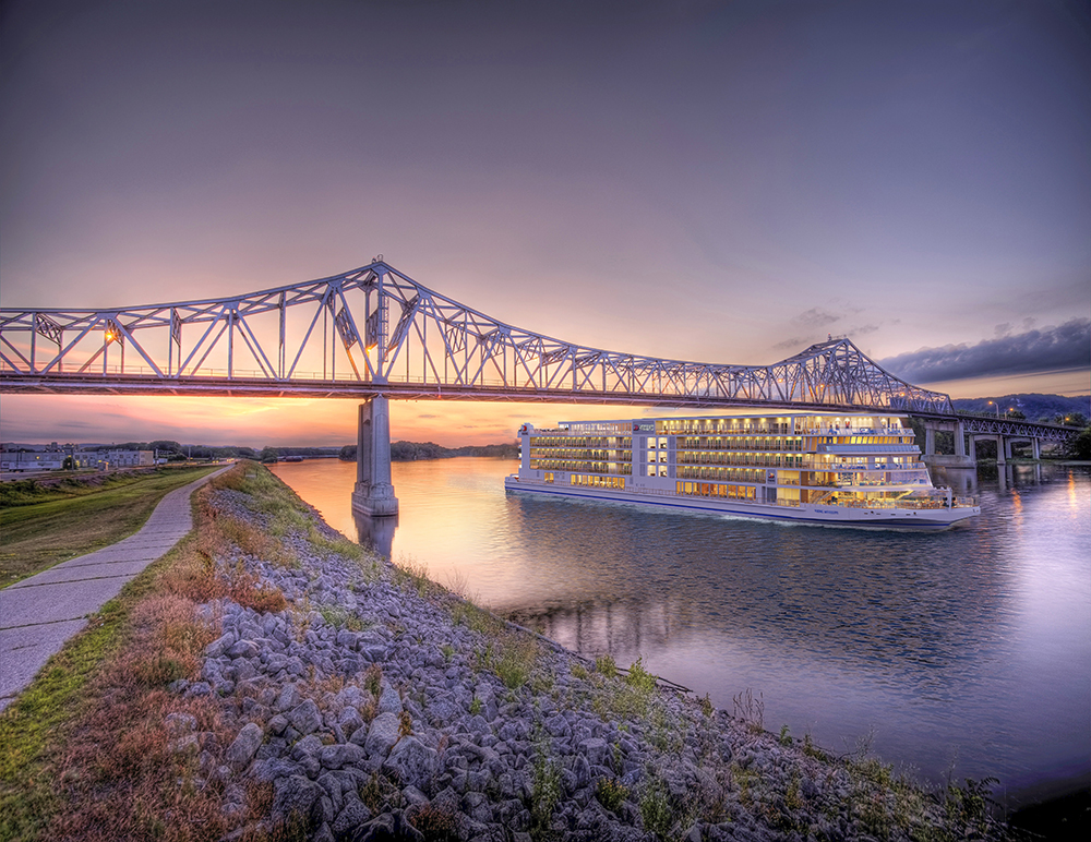 外觀/Viking Mississippi號/奢華河輪/密西西比河/美國