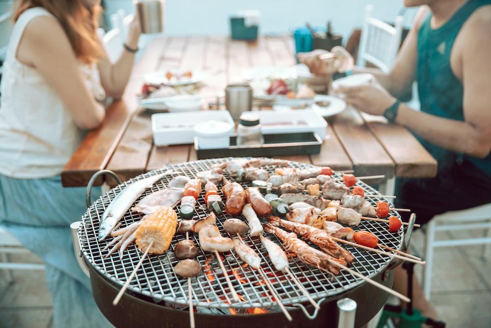 燒烤豪華 BBQ 大餐/向海那漾/台中景點/海邊露營/台中露營/台中大安