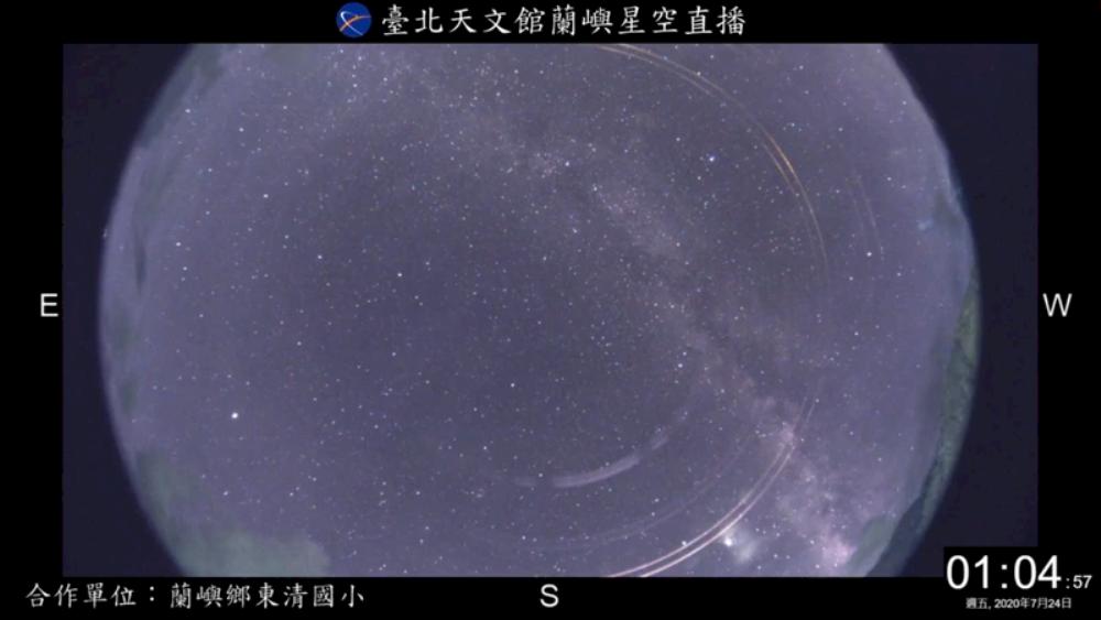 寶瓶座/流星雨/夏日/台北市天文館