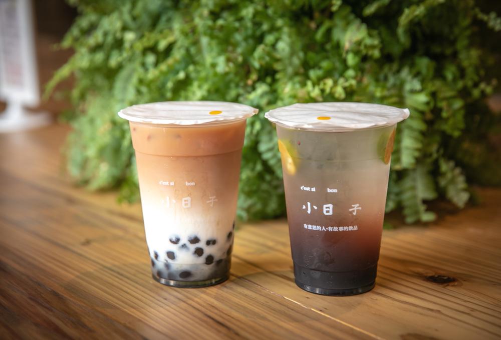 珍珠鮮奶茶、紅茶/小日子/竹山菸草店/南投景點/竹山/台灣
