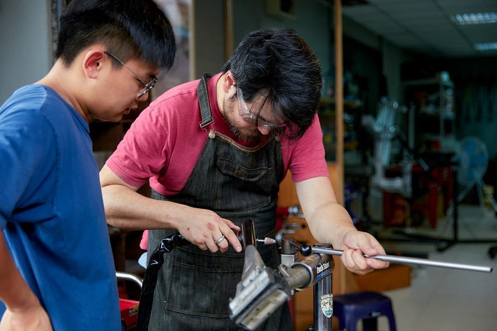 單車製作課程/光屋工藝/台北/台灣/訂製單車